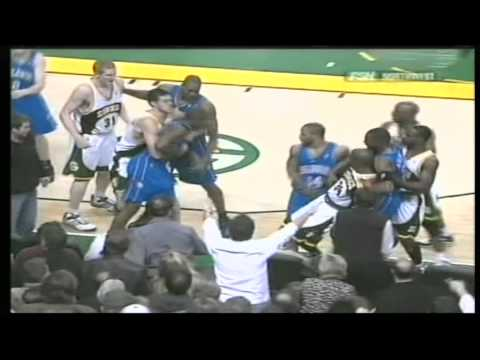 Ray Allen vs Keyon Dooling, Fight from season 05/06