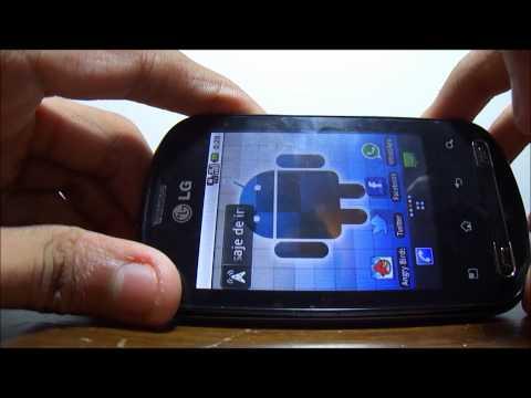 LG Optimus Me Review Revisado en Español