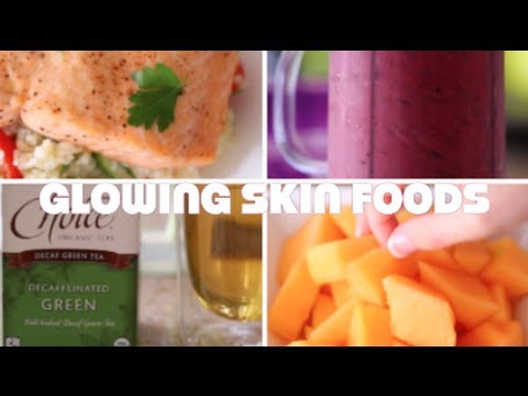 ♥ 5 Foods For Glowing Skin (MY Healthy Skin Diet) ♥