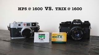 HP5 at 1600 vs TRIX at 1600