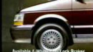 1991 Plymouth Voyager Commercial