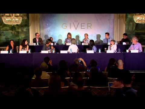 The Giver: New York Press Conf. 3 - Meryl Streep, Taylor Swift, Jeff Bridges