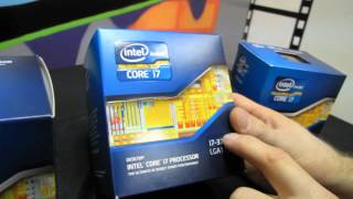 Intel 3770K 3570K Ivy Bridge 3rd Generation Core CPU Unboxing & First Look Linus Tech Tips
