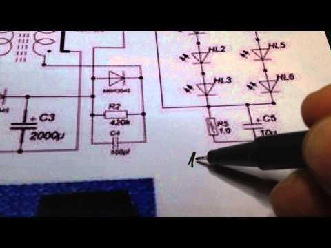 Тайны TL494 или как получить пачки в фонарике Акулы