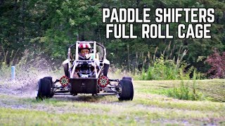 X Kart FINAL SEND! Paddle Shifters + Roll Bar