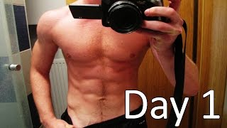 This is impossible?! | 300 push ups a day for 10 days challenge | Day 1