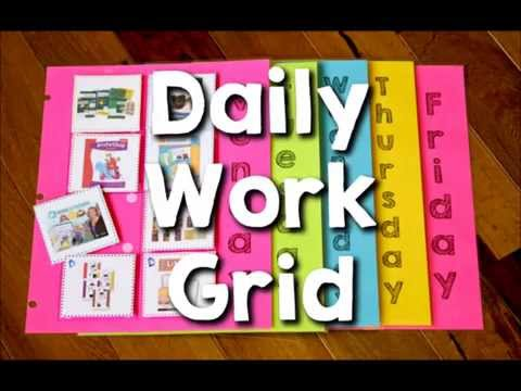 Daily Grid for Homeschool