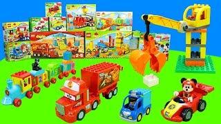 Spielzeug von Lego Duplo Micky Maus, Cars, Lastwagen, Kran, Bagger & Spielzeugautos für Kinder
