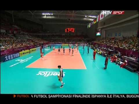 China-Turkey (1-3) 2012 FIVB World Grand Prix