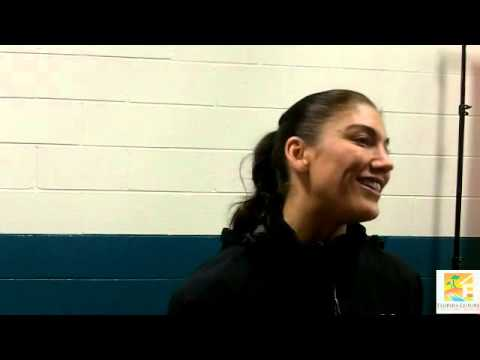 US Women's National Team - Hope Solo Interview