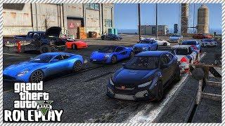 GTA 5 Roleplay - Sleeper Honda 'DESTROYS' Expensive Supercars | RedlineRP #575
