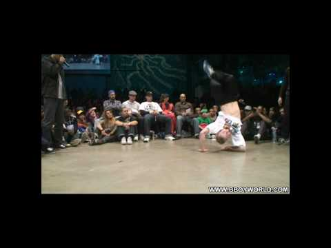 JUST DO IT (RUGGED SOLUTIONS) vs MENNO (HUSTLE KIDZ/BBOYWORLD) @ HIP OPSESSION 6 WWW.BBOYWORLD.COM Video
