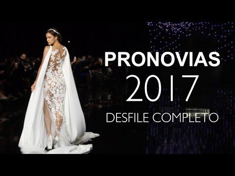 Desfile Pronovias 2017 Completo (con Irina Shayk)