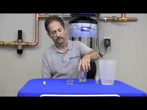 Shocking Chlorine Demo - Chlorine Absorption