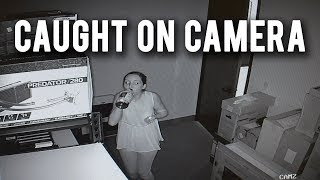 WE GOT SECURITY CAMERAS! Installation and Overview