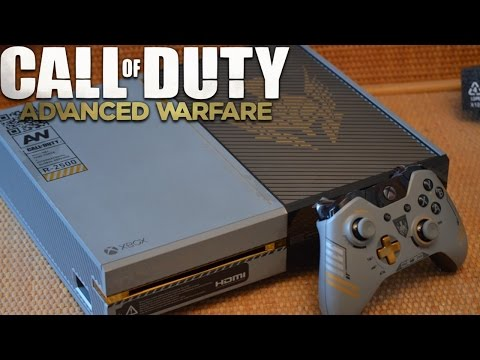 Call of Duty: Advanced Warfare - XBOX ONE Console UNBOXING! Limited Edition COD Xbox Console!