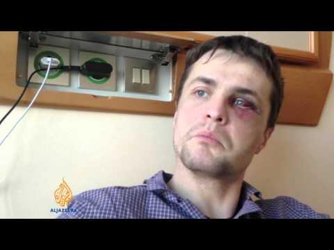 Ukraine's police accused of brutality