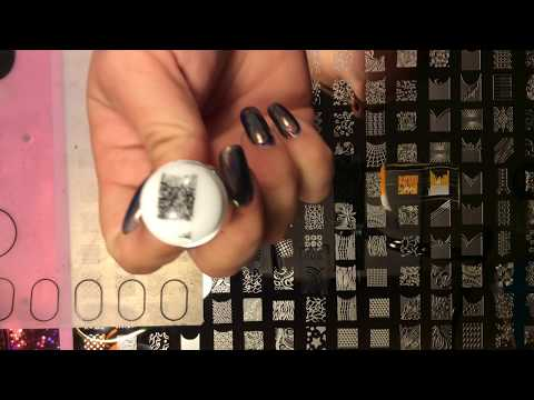 🙀🎉GIANT STAMPING PLATE!!?!!! I review this giant stamping plate and new stamper
