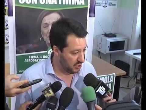 ELEZIONI EUROPEE: INTERVISTA A MATTEO SALVINI A DATI DEFINITIVI
