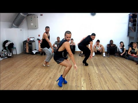 "YANIS MARSHALL CHOREOGRAPHY ""YES"" BEYONCE. HEELS CLASS STUDIO HARMONIC PARIS."