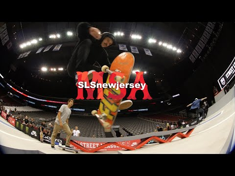 Street League Skateboarding New Jersey Slay Sunday