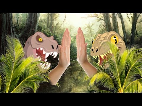 Trex+Raptor=awesome//agario mobile//gameplay
