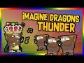 Growtopia | ♫ Imagine Dragons - Thunder (Music Video)