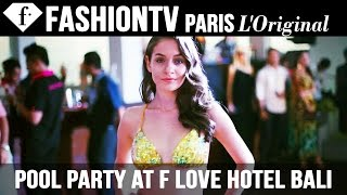 Pool Party at F Love Hotel Bali | FashionTV