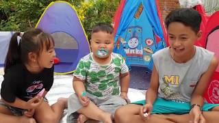 Trò Chơi Nhà Lều Sinh Nhật ❤ ChiChi ToysReview TV ❤ Đồ Chơi Trẻ Em Baby Song