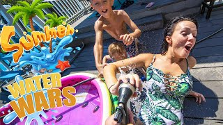 Our HUGE summer Water Battle!!