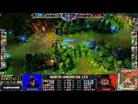 TSM vs coL - LCS 2013 NA Spring W6D1 (English)