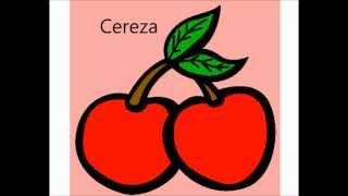 aprende las  frutas para niños video infantil