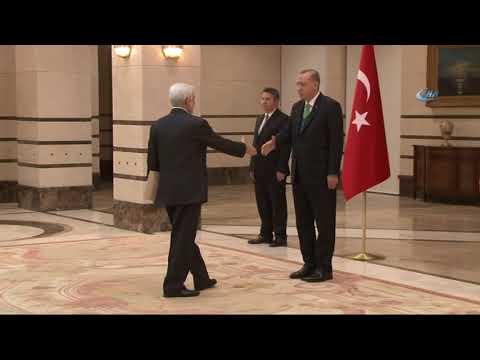 Cumhurbaşkanı Erdoğan, Afganistan Büyükelçisi Sayedjan'i Kabul Etti