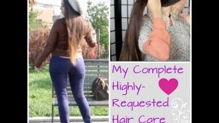 Long Strong Healthy Hair Care Routine