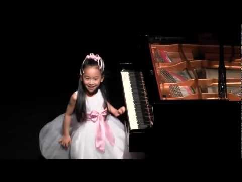 Harmony Zhu, 6 years old. student of Dr. Tanya Shevtsova, plays two Waltzes by Chopin