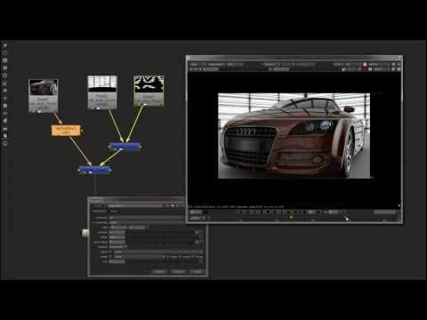 Nuke CG Motion Vector Blur Tutorial