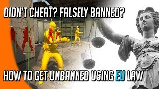 Cheaters vs Developers vs Consumer Rights: How EU Law Exonerated Innocent Players from FALSE Bans