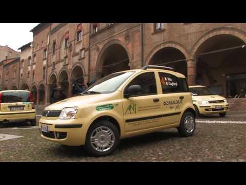 """5 auto donate alla Fondazione ANT …in stile """"rally"""""""