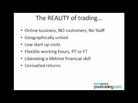 Trading - Why it's the best business model in the world!