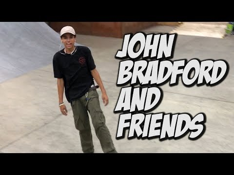 JOHN BRADFORD AND FRIENDS SKATING VANS AND MORE !!! - NKA VIDS - SKATEBOARDING ALL DAY
