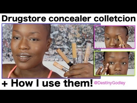 How to use Concealer | DrugStore Routine