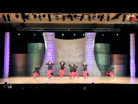 Po10c (south Africa) At World Hip Hop Dance Prelims 2012 (varsity) video