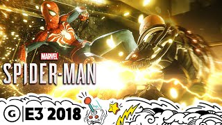 17 Minutes Of Spider-Man PS4 Open-World Gameplay | E3 2018