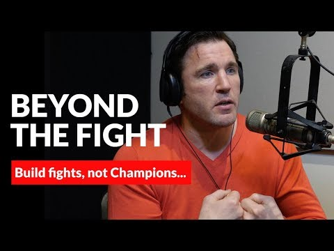 Chael Sonnen's advice to promoters...Build Fights, not Champions.
