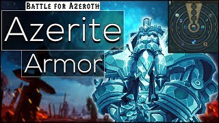 BFA - Everything You Need to Know About Azerite Armor and Power [Guide]
