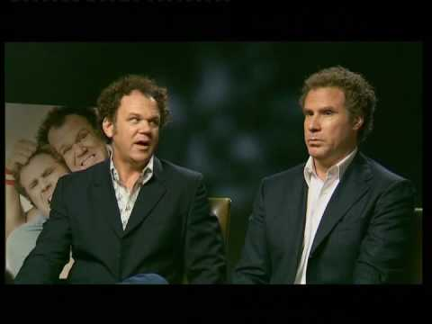 Will Ferrell, John C Reilly And Adam Mc Kay In Dublin Talking About Step Brothers