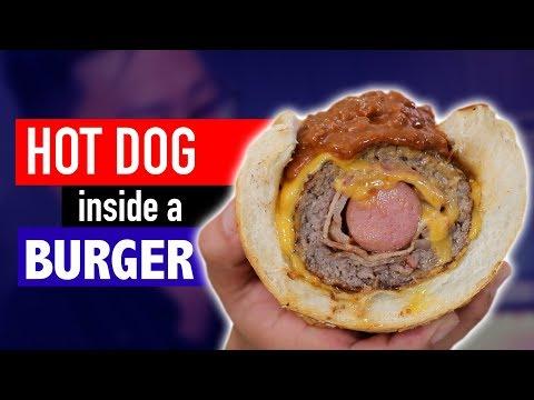 Cover Lagu HOT DOG INSIDE A BURGER - VERSUS