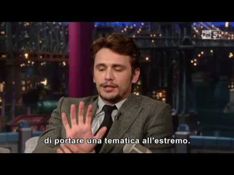 James Franco al David Letterman 25-03-2013 (sub ita)