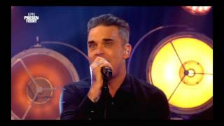 Robbie Williams live at the Qube Amsterdam 2016