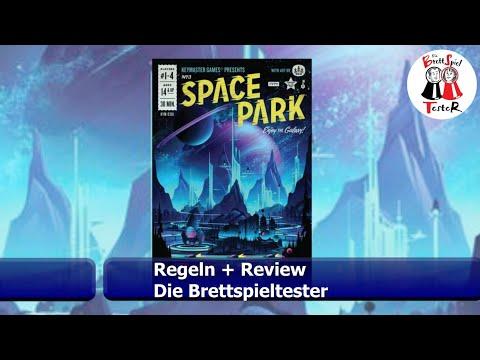 Space Park von Keymaster Games - Regeln + Review - Brettspiel - Die Brettspieltester